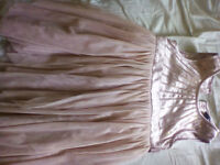 Gorgeous pink sequined party dress age 3 - 4 years