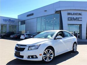 2014 Chevrolet Cruze 2LT RS One owner, accident free