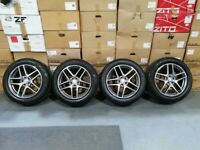 "19"" GENUINE MERCEDES GLC X253 ALLOY WHEELS & TYRES"