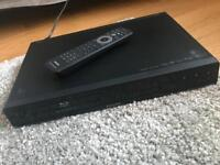 Philips Blu Ray DVD player and many Blu Ray DVDS