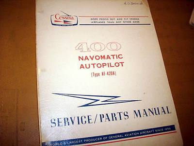 1973 and Up Cessna ARC 400 Navomatic Service Manual
