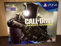 PS4 slim 500gb with infinite warfare or swap for Xbox one s