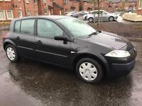2005 Renault Megane Authentique 1.4 ONLY 48,000 MILES! 1 Year MOT!