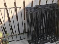 METAL RAILING INSERTS FOR DECKING (Wickes)