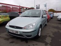 *FORD FOCUS 1.6 ZETEC*2003*NEW 12 MONTHS MOT*BARGAIN TRADE IN TO CLEAR AT £795*