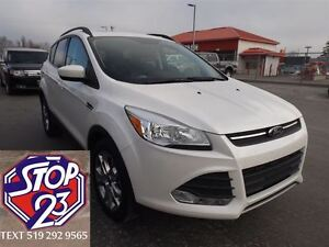 2015 Ford Escape SE 4X4 LEATHER SUNROOF NAV ECOBOOST