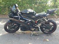 Yamaha R6 black/carbon *STUNNING*