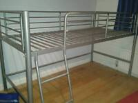 Boys single bed with mattress