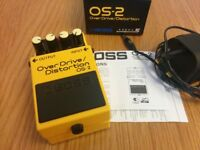 Boss OS-2 Overdrive / Distortion Pedal (Boxed, Perfect Condition!)