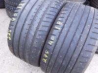Part worn tyres TouchStoneTyresLondon 175/40/18 x 2 tyres hankook open Sundays