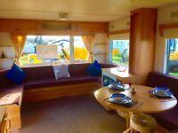 Static Caravan for Sale on Pictureqsue Sea View Park*12 Month Season*Eyemouth Nr Berwick,Haggerston*