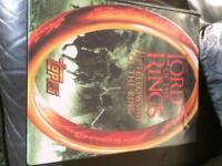 Lord of the rings topps trading cards in binder full set
