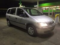 VAUXHALL ZAFIRA 1.8 LIFE 7 SEATER 2005 IN VGC 1.6