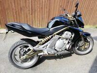 Er6n black and gold new mot new brakes