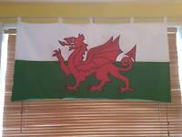 Heavy duty Welsh banner