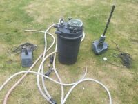 various garden pond filters,UV pond pumps