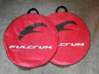 Fulcrum wheel bags x 2