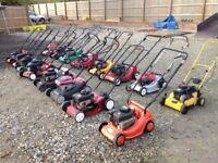 Petrol mowers - £150 the lot - Honda - flymo - Briggs and Stratton