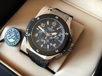 New Swiss Hublot Big Bang Chronograph Watch Steel