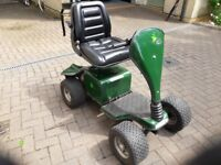 Woodpecker single seat golf buggy