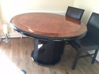 Wooden Living Room Furniture (Dining Table / Tea Table / Small Side Table /Big Side Table / Mirror.