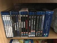 58 blu ray dvds