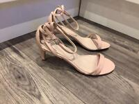 Brand New Blush Sandals from NEXT - size 7