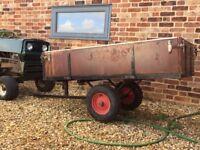 Garden tipping trailer