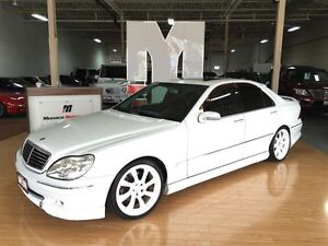 2001 Mercedes-Benz S-Class S320- NAVI, SUNROOF, LEATHER