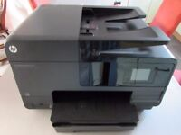 HP 8615 All-in-One Small Office/Home Printer. USB, Wireless or Wired, auto double-sided printing