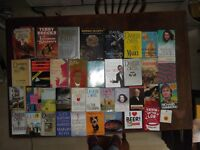 HUGE COLLECTION OF 180 BOOKS FICTION, SCIENCE, AUTOBIOGRAPHY, HISTORY ETC BOOTSALERS