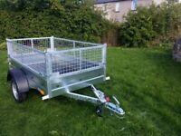 NEW Car trailer and mesh 6 x 4 x 2,25 £650 inc vat