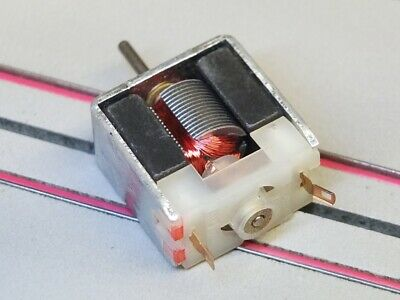 Car Parts - HO Slot Car Parts - Stock 6 ohm Motor for Tomy Turbo, SRT, Others - NEW !!