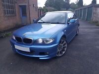 2004 BMW 318Ci M Sport Individual Sports Coupe Estoril Blue - Spares/Repairs, Still Drives