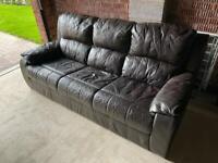 Sofa + armchair