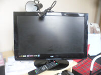 "24"" TV with built in DVD Player FREE to a good home"