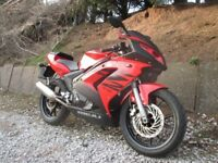 Yamaha Rieju rs2 125cc sports motorbike CBT learner legal gorgeous little bike well looked after