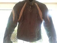 Ladies motorcycle jacket - small/size 8 - gloves/helmet thrown in for free!