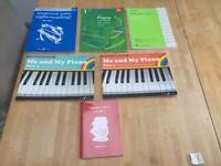 Piano learning books