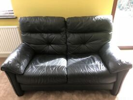3 & 2 Seater Leather Sofas For Sale