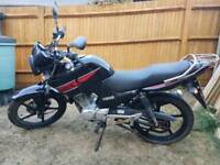 2014 Yamaha YBR 125 motorbike