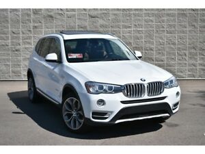 2015 BMW X3 xDrive28d | Navigation | Panoramic Roof | Leather