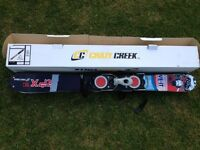 Crazy Creek snow blades with bindings