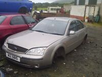 FORD MONDEO ENGINE/GEARBOX/PARTS