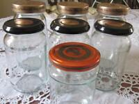40 Standard Jam Jars with Lids - Kew TW9