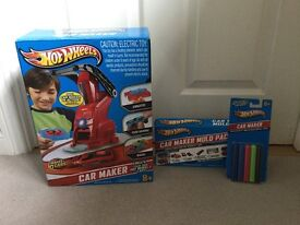 Hotwheels Car Maker & extra Car Maker Mould pack and wax sticks