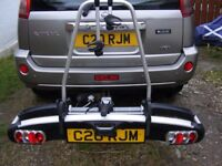 Thule EuroClassic G5 908 tilting car towball mounting twin bike rack
