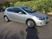 Vauxhall Astra 1.7 SE leather diesel 2012 cambelt changed alloys Bluetooth free road tax