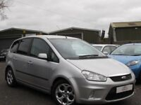 2008 FORD C-MAX 1.8 TDCI ZETEC 2 OWNERS 95054 MILES FULL SERVICE HISTORY MOTD FEB 18 EXCELLENT ORDER