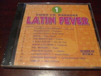 LATIN FEVER KARAOKE VIDEO CD VCDLF-001 VOLUME 1  12 TRACKS